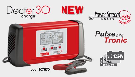 Универсальное устройство Telwin Doctor Charge 30