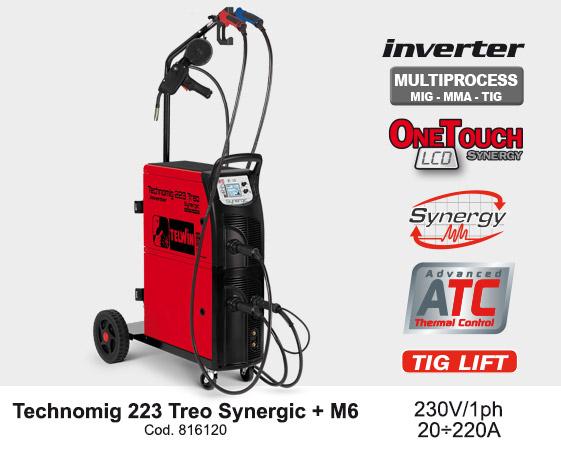 Technomig 223 treo synergic
