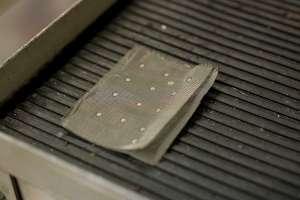 Тестирование точечной сварки тонкой сетки